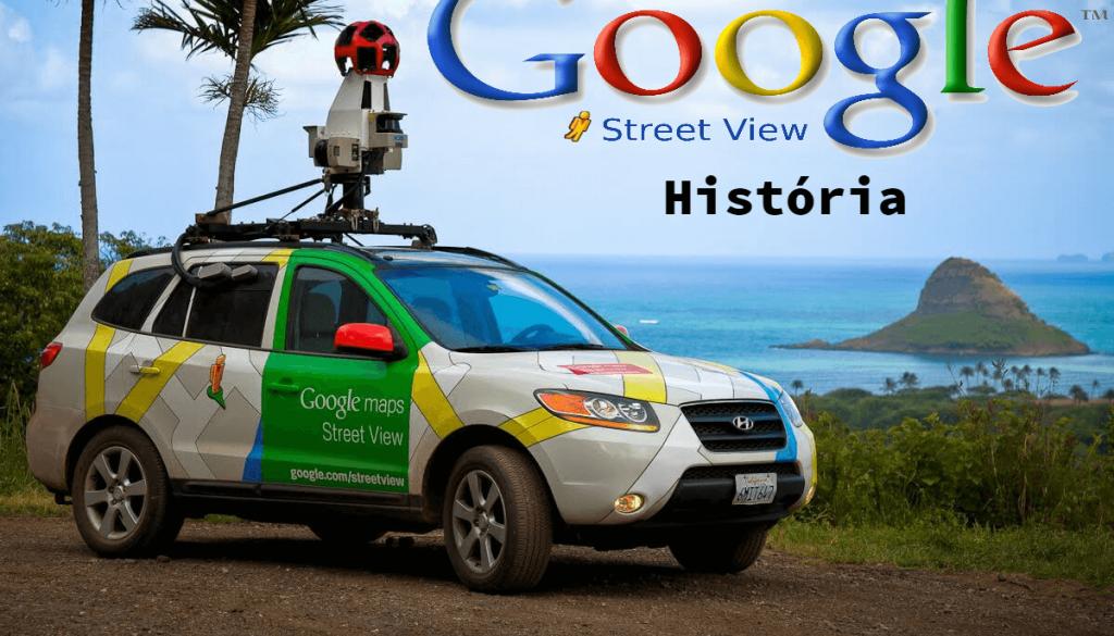 google street view logo - história google história